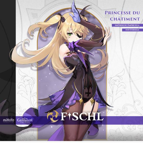 Artwork de Fischl dans Genshin Impact - Genshin Impact