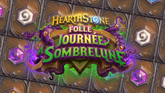 Hearthstone extension Folle journée à Sombrelune : toutes les cartes