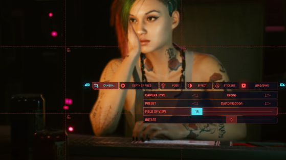 Un zoom pour être au plus près de l'action - Cyberpunk 2077