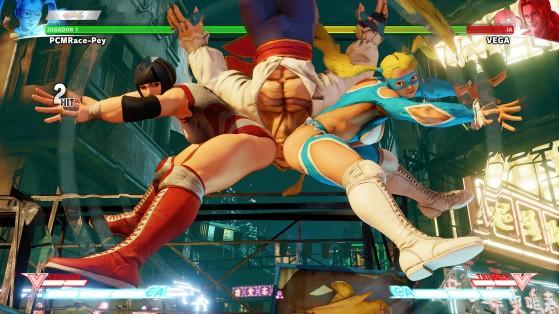 Le coup le plus célèbre de R.Mika - VS Fighting