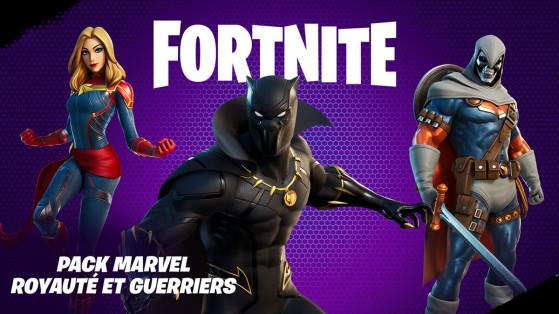 Fortnite dévoile le pack de skins et accessoires Marvel