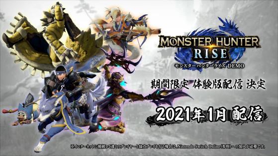Monster Hunter Rise : La démo est prête