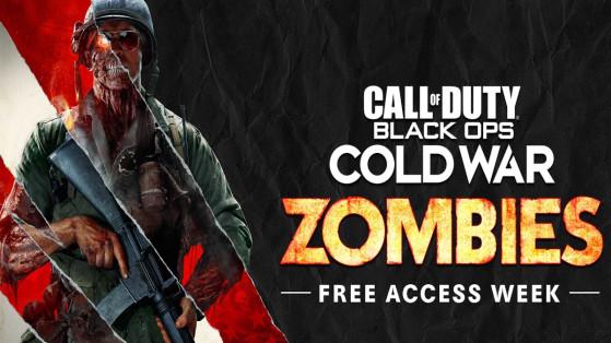 Le mode Zombie de Black Ops Cold War sera gratuit pendant une semaine