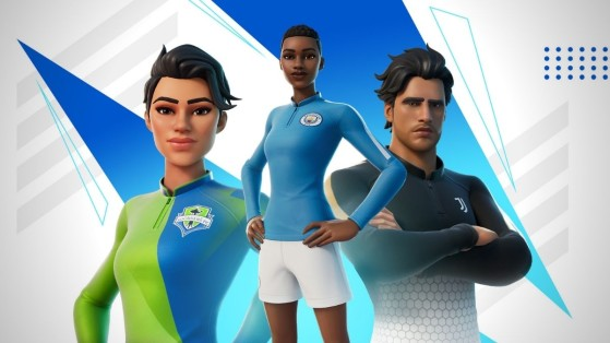 Fortnite : skins Football et maillots de la Ligue des champions à venir dans la boutique