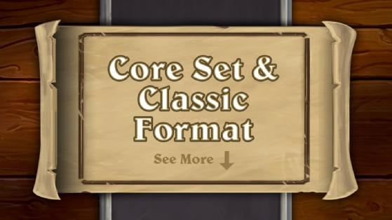 Hearthstone : Refonte totale des formats, ensemble fondamental, Héritage, Classique