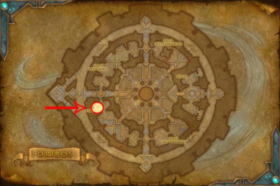 Localisation de l'Agresseur Zo'dash - World of Warcraft
