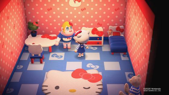 Tous les nouveaux meubles Sanrio dans Animal Crossing New Horizons