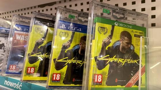 Cyberpunk 2077 : CD Projekt espère un retour prochain du jeu sur PlayStation Store