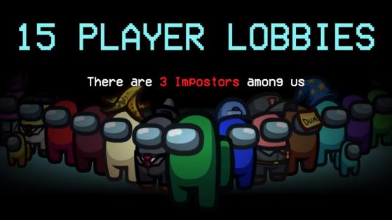 Among Us : Il sera possible de créer des lobbys de 15 joueurs à partir du 15 juin