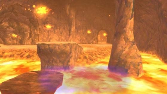 Volcan d'Ordinn Zelda Skyward Sword HD : les quarts de coeur