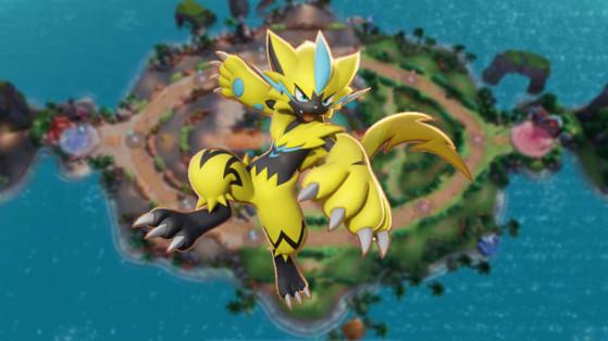 Zeraora Pokémon Unite : build, attaques, objets et comment le jouer