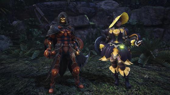 Le visuel du set change en fonction du sexe de votre chasseur. - Monster Hunter World