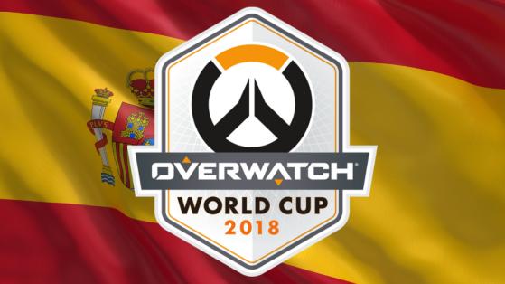Overwatch Coupe du monde 2018 : Equipe Espagne
