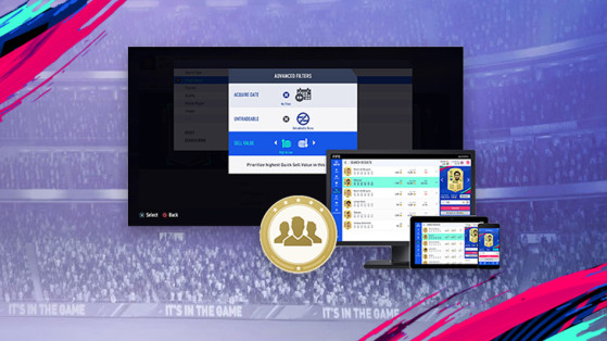 FIFA 19 : Web app & Companion app