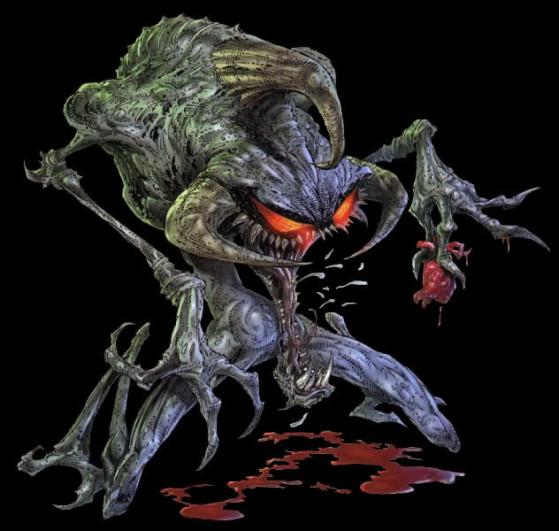 Le Violator, le méchant de Spawn, aussi mignon et gourmand que Cho Gath - League of Legends