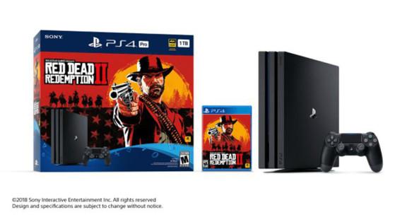 Red Dead Redemption 2 : Bundle PS4 / PS4 Pro