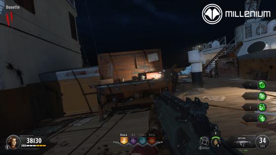 Établi - Call of Duty