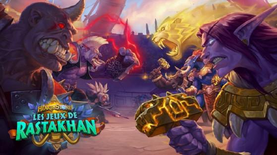 Hearthstone extension Les jeux de Rastakhan : les Loas trolls