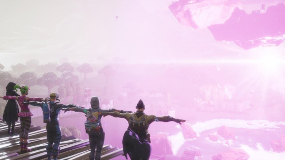 Fortnite : 1 million de viewers sur Twitch pour l'événement final du cube