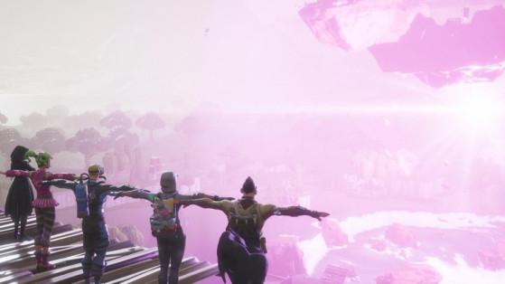 Fortnite : 1 million de viewers sur Twitch pour l'événement final du cube