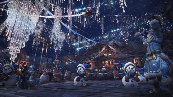 Monster Hunter World : Festival d'hiver, Winter festival