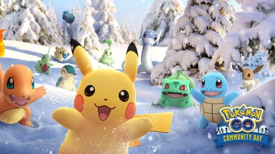 Pokemon GO : le Community Day final de décembre