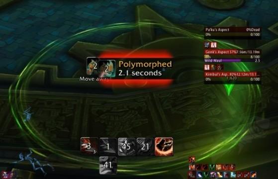 Le Maléfice rampant fonctionne de la même façon qu'à Atal'Dazar - World of Warcraft