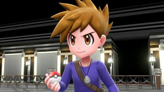 Pokemon Let's GO : Battre Blue en duel