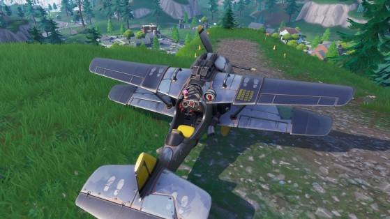 Fortnite : emplacements des avions sur la carte