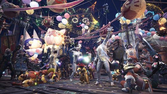 Monster Hunter World : Banquet anniversaire