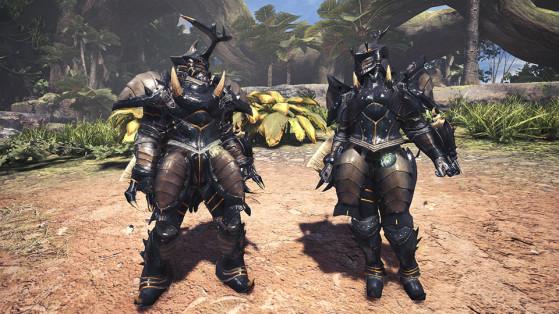 Armure spéciale - Scarabée - Monster Hunter World