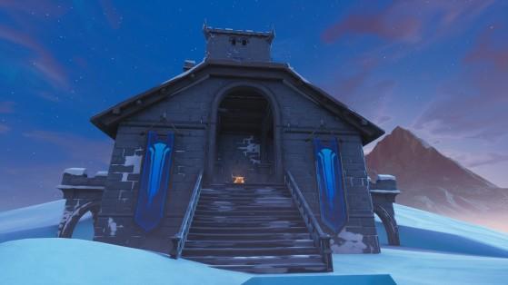 Fortnite : le château de Polar Peak, nouvelle zone