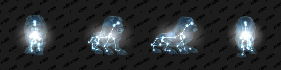 Un chien astral - World of Warcraft