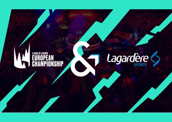LoL :  Lagardère Sport devient partenaire du LEC 2019