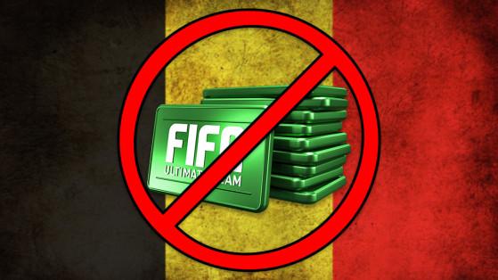 EA Sports retire la vente des Points FIFA en Belgique