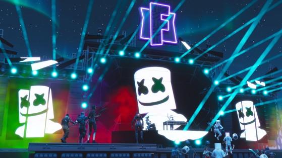 Fortnite : le concert de Marshmello attire 10 millions de spectateurs