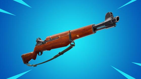 Fortnite : Fusil d'infanterie, nouvelle arme