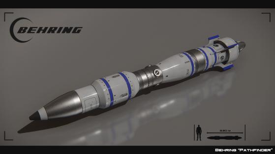Pathfinder, missile de taille 4 à guidage infrarouge - Star Citizen