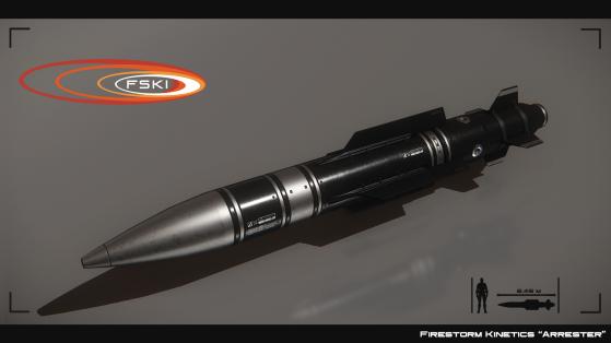 Arrester III, missile de taille 3 à guidage optique - Star Citizen