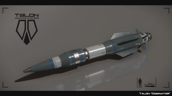Dominator II, missile de taille 2 à guidage électromagnétique - Star Citizen