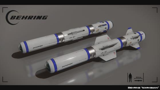Marksman I, missile de taille 1 à guidage infrarouge - Star Citizen