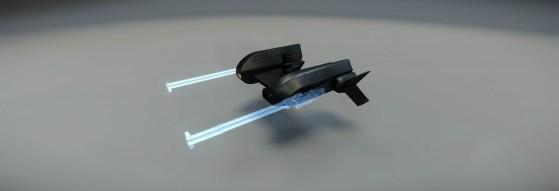Tourelle téléopérée spécifique pour le nez des vaisseaux de la gamme F7C - Star Citizen