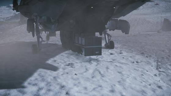 Le Mustang Alpha est équipé d'un port utilitaire de type cargo à l'arrière - Star Citizen