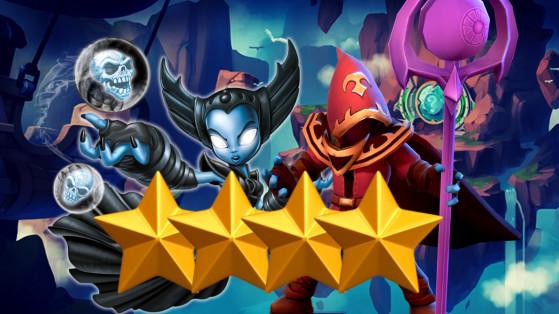 Skylanders Ring of Heroes : Tier list Nat 4, meilleurs monstres