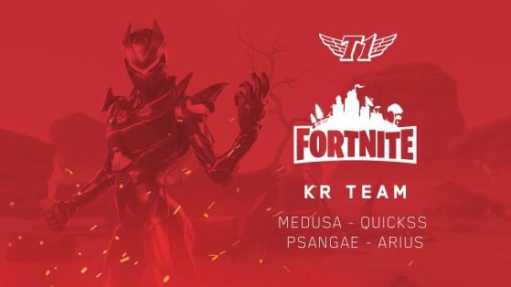 T1 s'offre une équipe Fortnite
