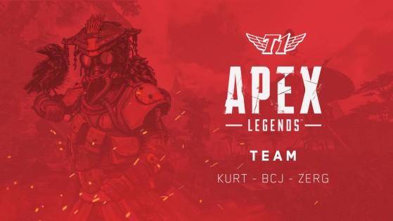 T1 dévoile son équipe Apex Legends
