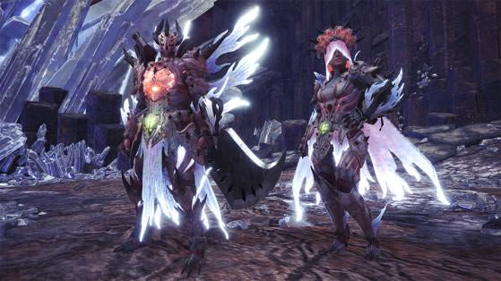 Set d'armure Xeno'jiiva γ - Monster Hunter World