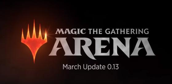 Magic Arena, MTGA : patch 0.13, cosmétiques, sleeves