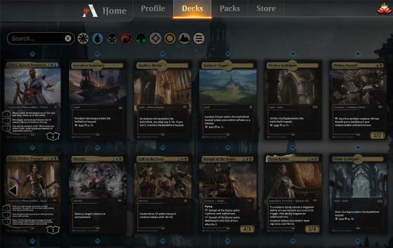 Exemples d'illustrations arrivant avec le patch 0.13 - Magic Arena