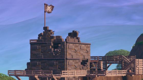 Fortnite : visiter des camps de pirates en une seule partie, défi semaine 7